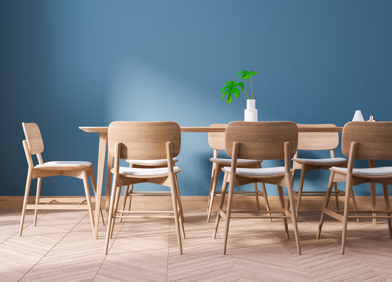 Wooden Dining Room 1