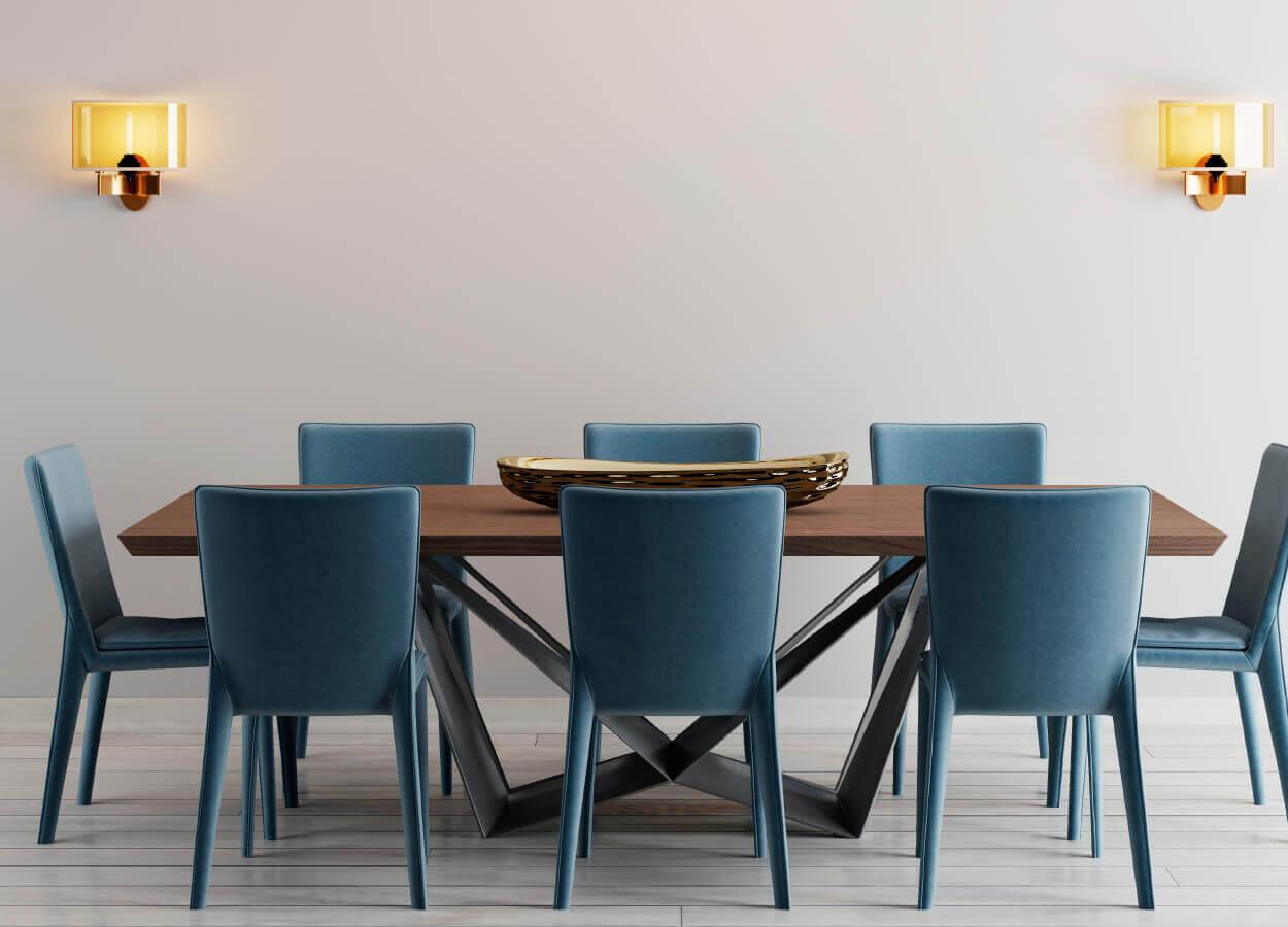 Blue Dining Room 1